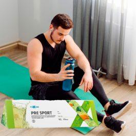 Bebida hidratante pre sport