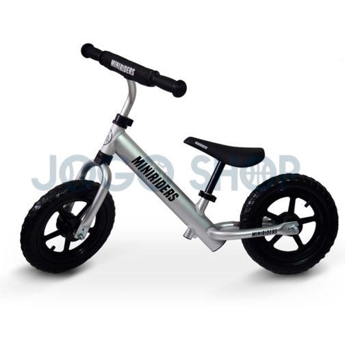 Bicicleta balance para niños color gris