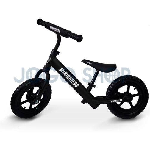 Bicicleta balance para niños color negro