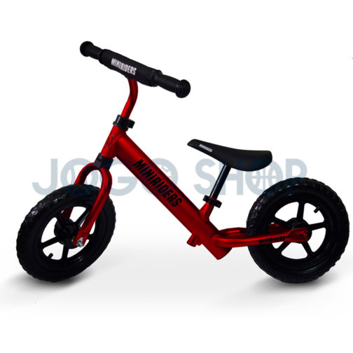 Bicicleta balance para niños color rojo