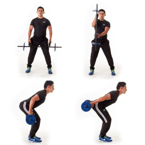 Barra de pesas funcional